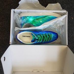 Shoes - Tretorn Iridiscent Blue - Women's